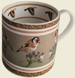 Goldfinch, Fine Bone China Mug by Wildlife Artist Robert E Fuller