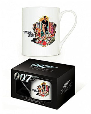 James Bond (Live And let Die) bone China Mug