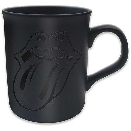 Rolling Stones Classic Tongue Matt BlackMug