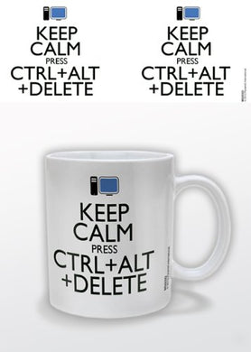 Keep Calm (ALT DELETE) Mug