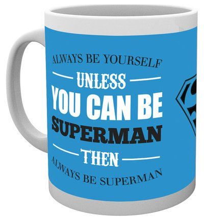 DC Comics Superman (Be Yourself) Mug