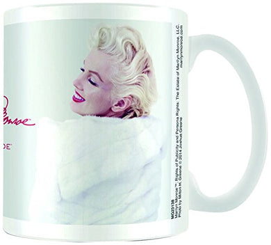 Marilyn Monroe (White Fur) Mug