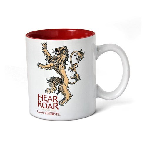 Game of Thrones (Lannister White and Red) Mug