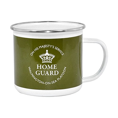 DADS ARMY GIFTS - HOME GUARD ENAMEL MUG 56510