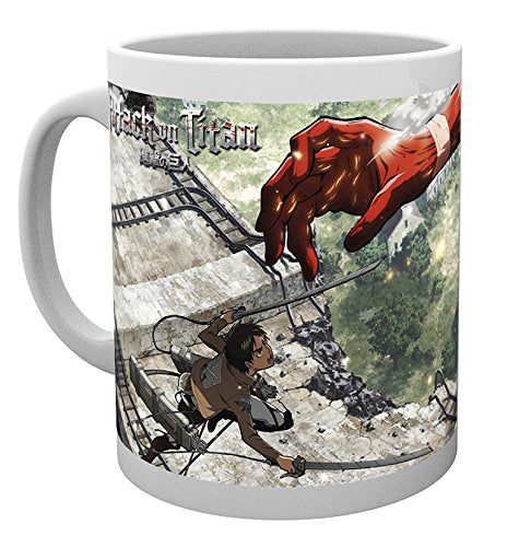 Attack On Titan, Titan Mug