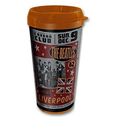 The Beatles Live In Liverpool Retro Thermal Travel Mug