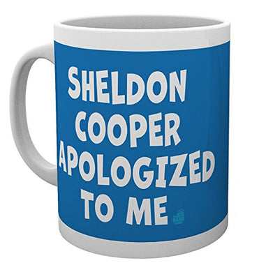 The Big Bang Theory (Sheldon Cooper Apologised) Mug