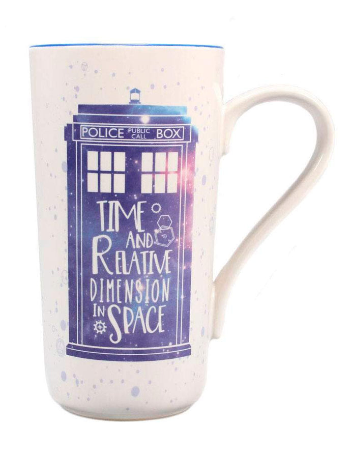 Dr Who (Galaxy) Latte Mug
