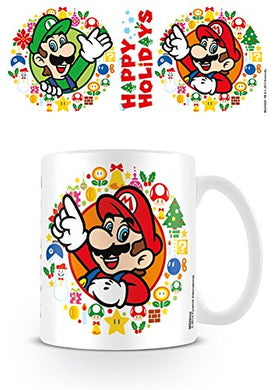 Super Mario (Happy Holidays) Mug