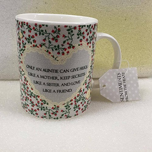 Only An Auntie Sentiment Mug