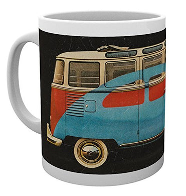 VW Camper (Advert) Mug
