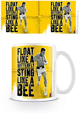 Muhammad Ali (Float Like A Butterfly, Sting Like A Bee) Mug