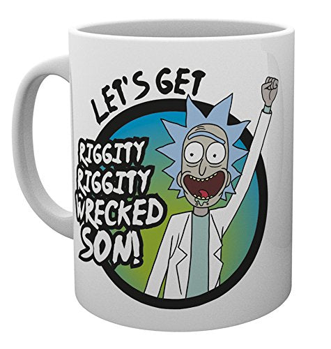 Rick and Morty (Wrecked) Mug