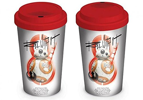 Star Wars The Last Jedi (BB-8 Roll With It) Travel Mug