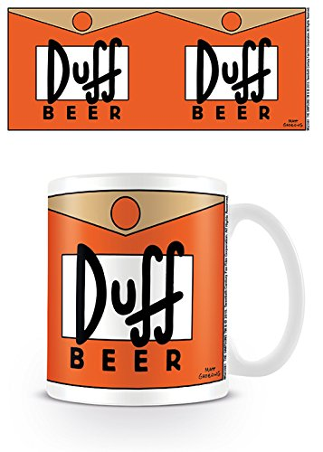 The Simpsons (Duff Beer) Mug