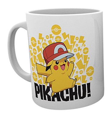 Pokemon Ash Hat (Pikachu) Mug