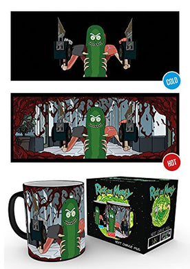 Rick And Morty (Pickle Rick) Heat Changing Mug