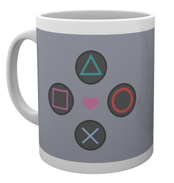 Playstation (Push My Buttons) Mug