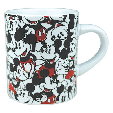 Mickey Mouse Montage Set Of Two Mini Mugs