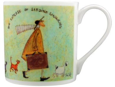 Pyramid International Sam Toft, MGBC23811 (The Suitcase Of Sardine Sandwiches) Fine China Mug