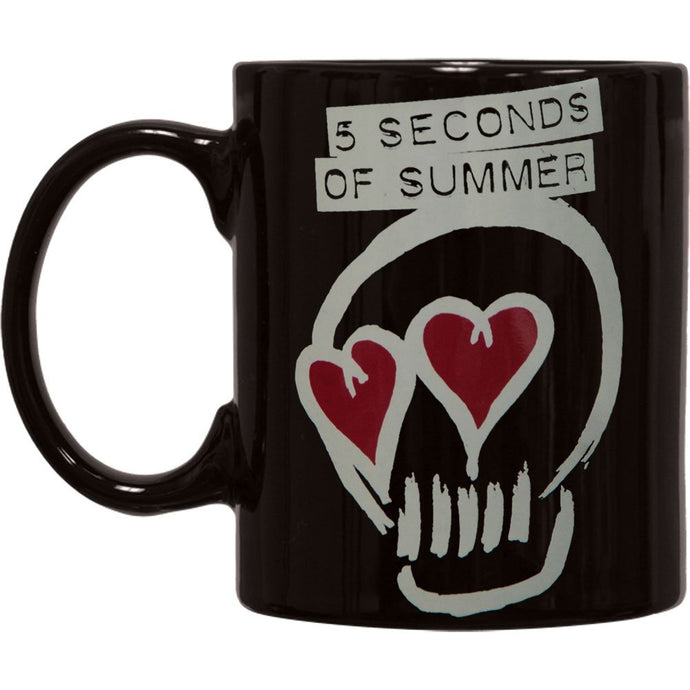 5 Seconds Of Summer, Black Logo Boxed Mug