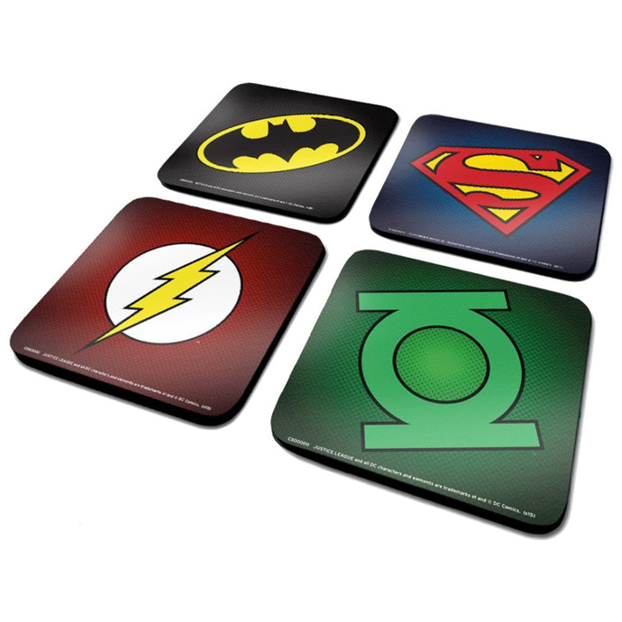 DC Comics (Symbols) Coaster Set