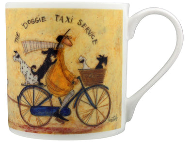 Sam Toft The Doggie Taxi Service Fine China Mug