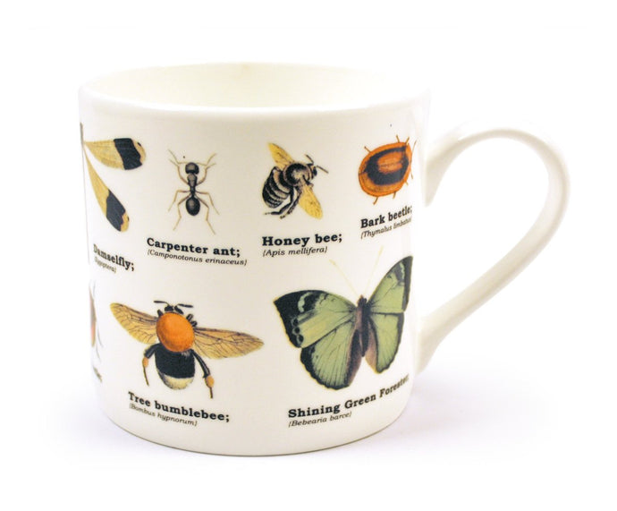 Bone China Insects Mug