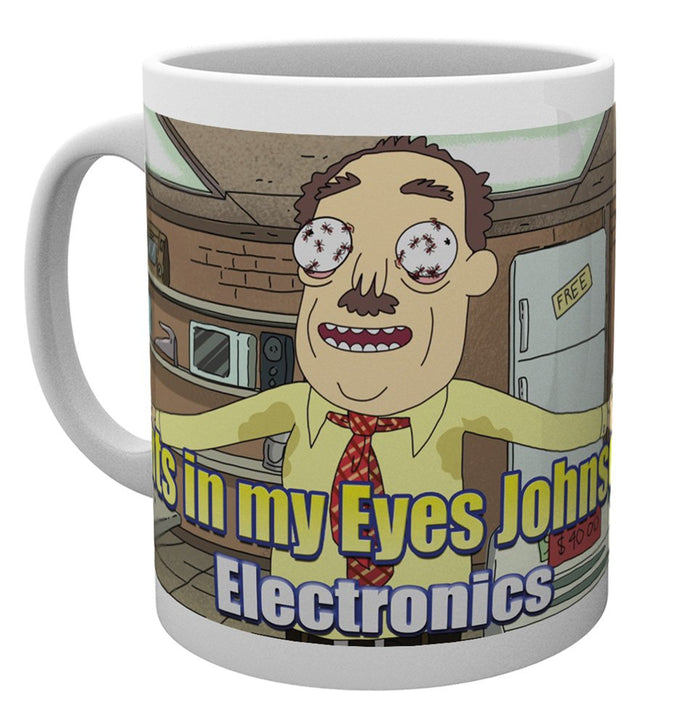 Rick and Morty (Ants In My Eyes Johnson) Mug