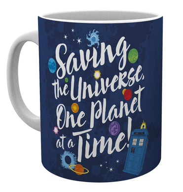 Doctor Who (Saving The Universe) Mug