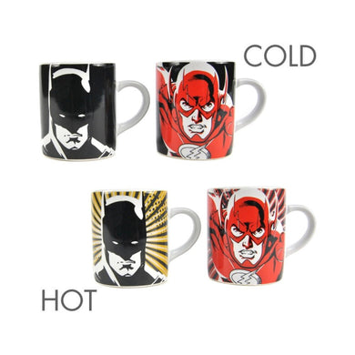 Justice League (Batman and Flash) Heat Changing Mini Mugs Set