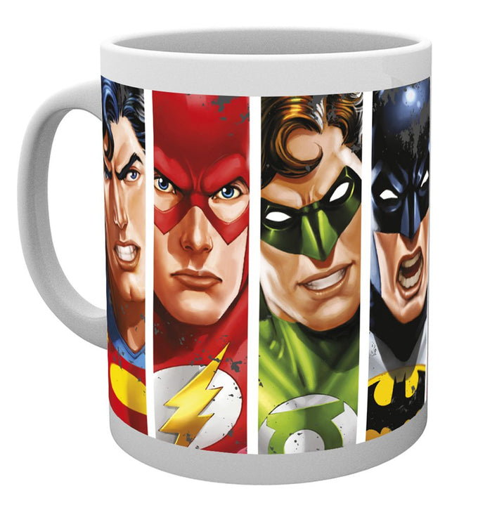 DC Comics (Justice League Faces) Mug