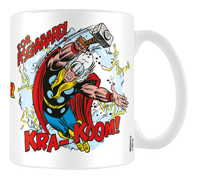 Marvel Retro (Thor - For Asgard) Mug