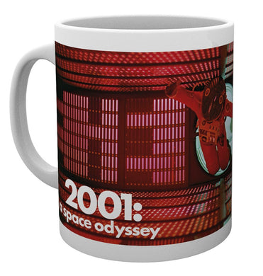 2001 A Space Odyssey (Red Astronaut) Mug