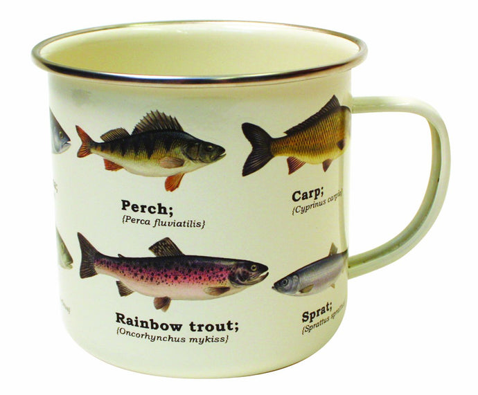 Ecologie Multi Species Fish Enamel Mug