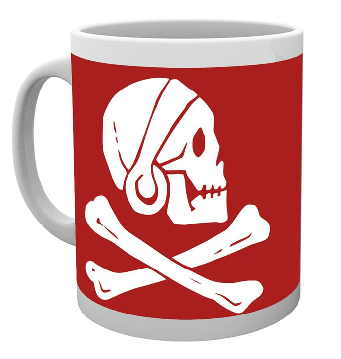 Uncharted (Red Scull) Mug