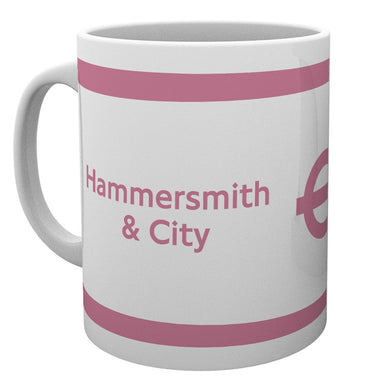 Transport For London (Hammersmith And City) Mug