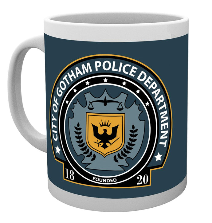 DC Comics Gotham Police Badge Mug