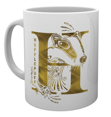 Harry Potter (Hufflepuff) Monogram Mug