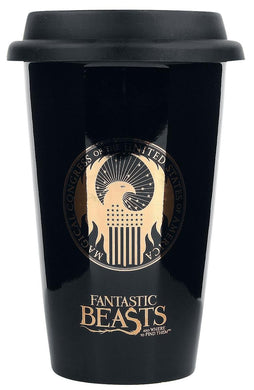 Fantastic Beasts Macusa Travel Mug