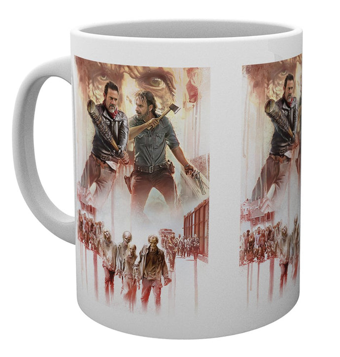 The Walking Dead (Season 8) Illustration Mug