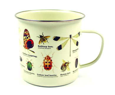 ECOLOGIE Insects Enamel Mug