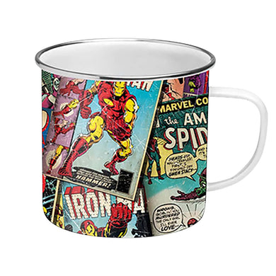 Marvel (Retro Comics) Enamel Mug