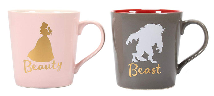 Disney (Beauty and the Beast) Set of Two Mugs