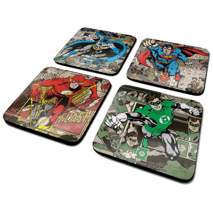 DC Comics (Burst) - Coaster Set