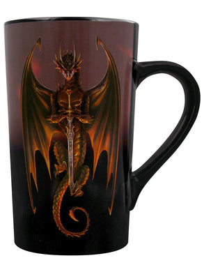 Anne Stokes (Dragon Warrior) Heat Changing Latte Mug