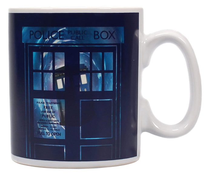 Dr Who (Tardis) Heat Changing Mug