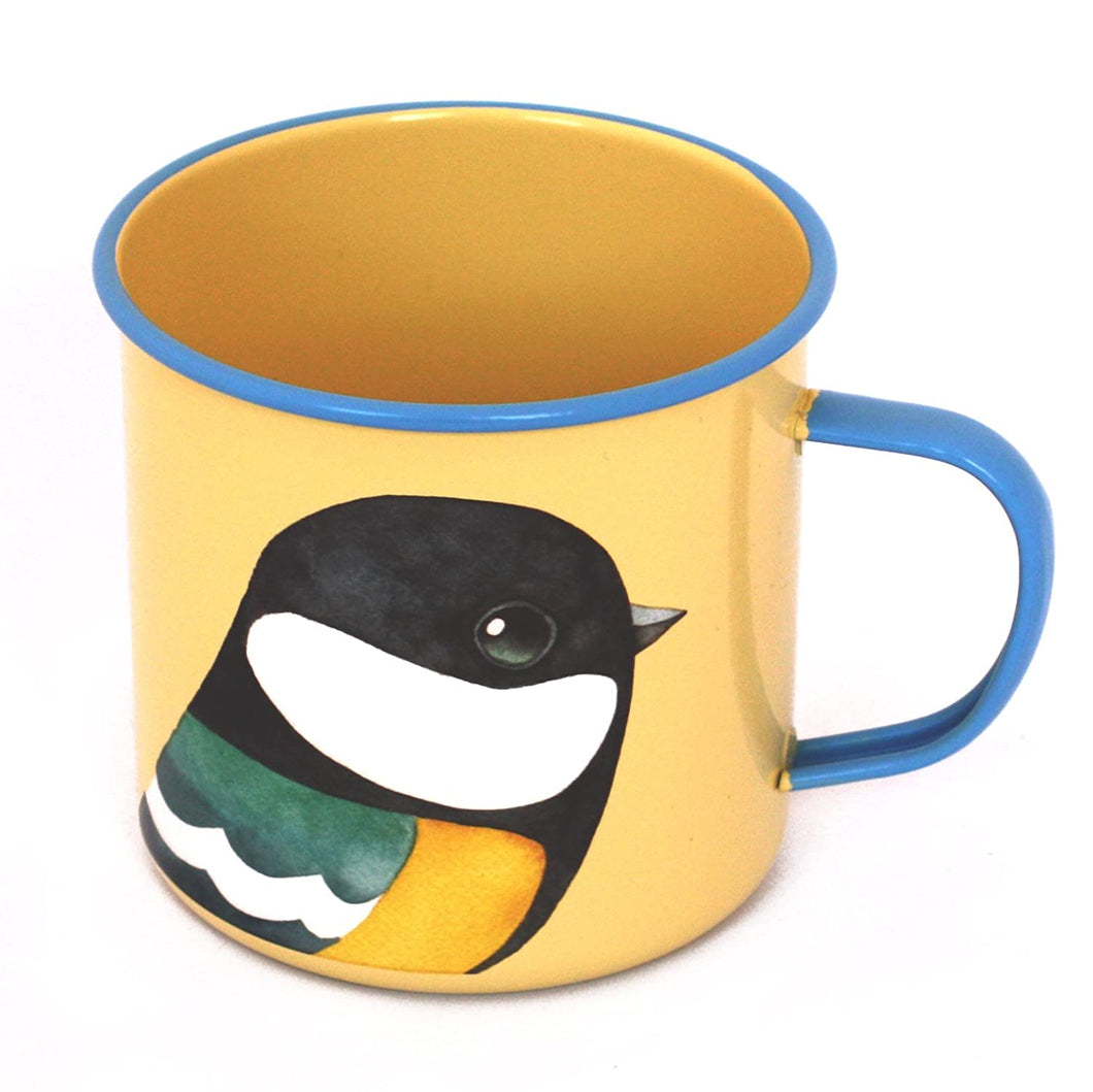 Great Tit (Bird) Enamel Mug