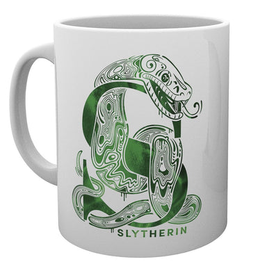 Harry Potter (Slytherin Monogram) Mug