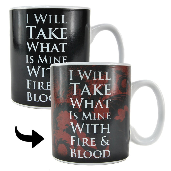 Game Of Thrones (Daenerys) Heat Changing Mug - Boxed